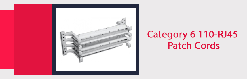 Category 6 110-RJ45 Patch Cords