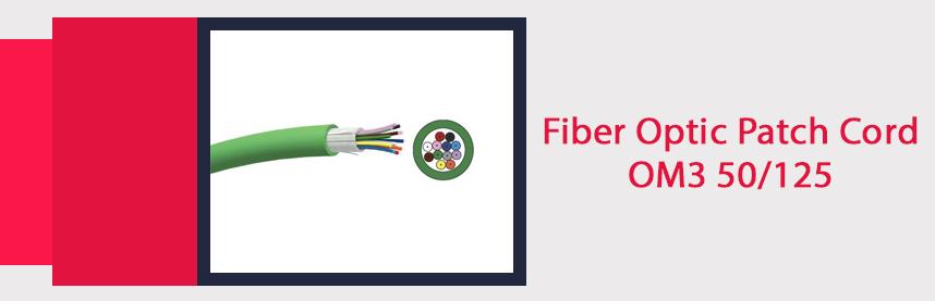 Fiber Optic Patch Cord OM3 50/125