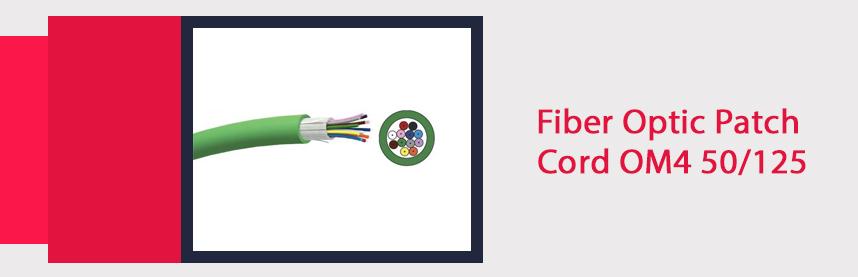 Fiber Optic Patch Cord OM4 50/125