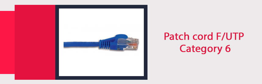 Patch cord F/UTP Category 6