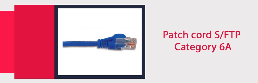 Patch cord S/FTP Category 6A