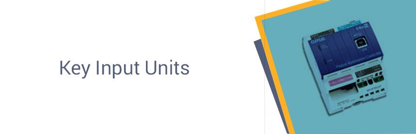 Key Input Units