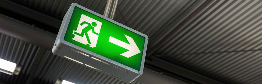 Exit & Emergency Lights