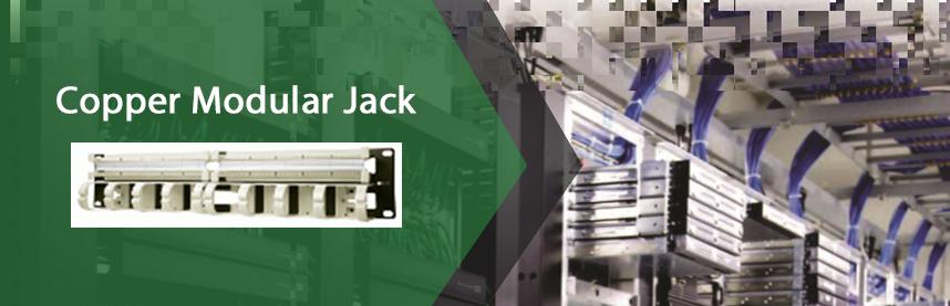 Copper Modular Jack