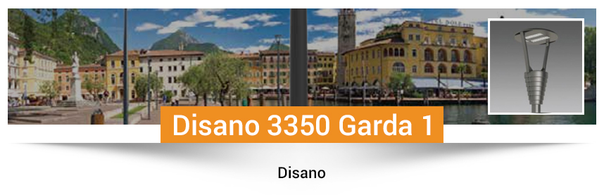 Disano 3350 Garda 1- rotosymmetrical