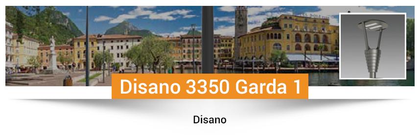 Disano 3350 Garda 1- rotosymmetrical