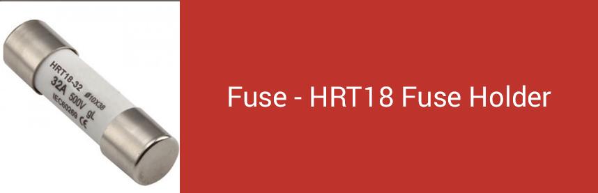 Fuse - HRT18 Fuse Holder