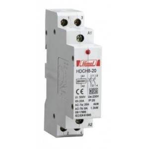 HDCH8P20211, 2 Pole/20Amps, 1NO+1NC