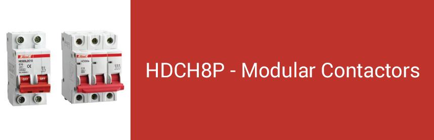 HDCH8P - Modular Contactors