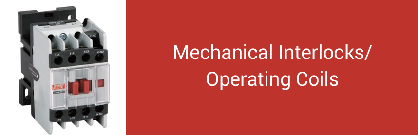 Mechanical Interlocks/Operating Coils