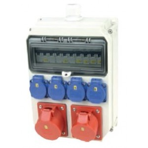 Delta Series Anif4 - Thermoplastic insulated distribution boxes - Wall Mounted