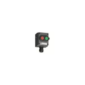 Selector Switch, 2 poles, 3  positions - I-O-II - 8040/1180X-23D01BA05