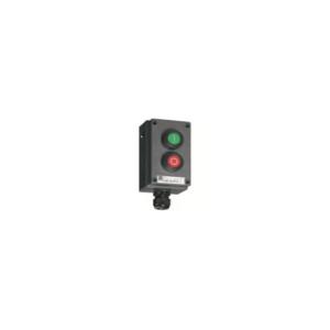 Selector Switch, 2 poles, 3  positions - I-O-II -  8040/1280X-01L13BA05-01L08BA05