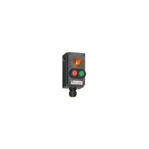 Selector Switch, 2 poles, 3  positions - I-O-II -  8040/1280X-54C06XXXX-23D01BA05