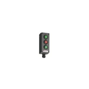 Selector Switch, 2 poles, 3  positions - I-O-II - 8040/1380X-01L13BA05-01L08BA05 - 01L15BA05