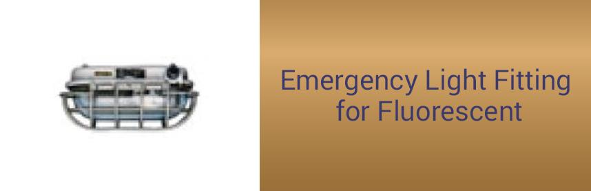 Emergency Light Fitting for Fluorescent