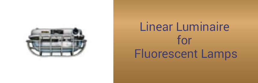 Linear Luminaire for Fluorescent Lamps