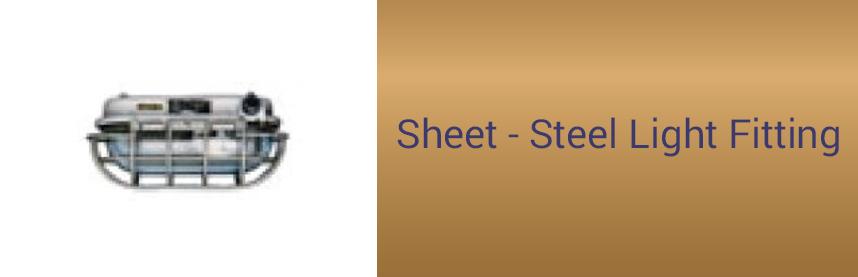 Sheet - Steel Light Fitting
