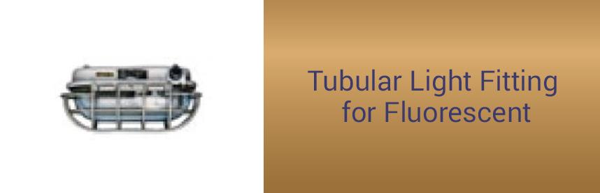Tubular Light Fitting for Fluorescent