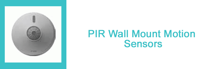 PIR Wall Mount Motion Sensors