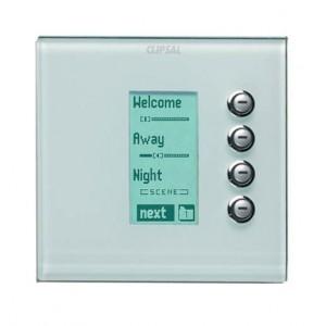 4 Gang Key input DLT Glass fascia
