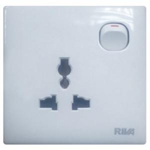 10A 2-Round Pin Plug