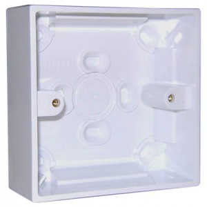 1 Gang Surface Box (87 x 87mm)