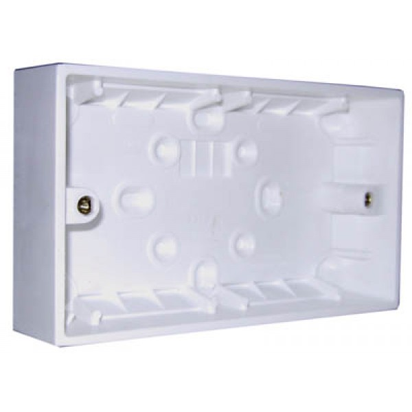 2 Gang Surface Box (147 x 87mm)