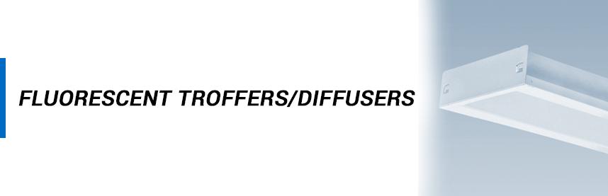 Fluorescent - Troffers/Diffusers