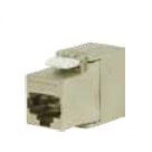 RJ45 Keystone connector Cat 5e shielded * White colour available on request