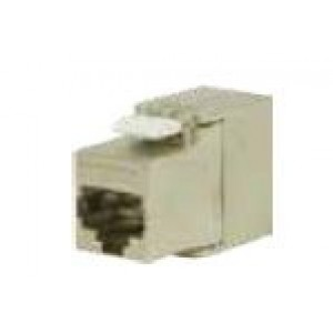 RJ45 Keystone connector Cat 6A shielded